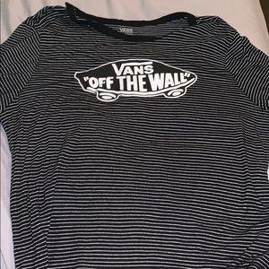 vans tshirt more like a crop top